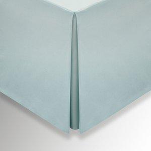 Bedeck 1951 Plain Dye Percale Double Valance, Celadon Tlvepde2cel, Celadon