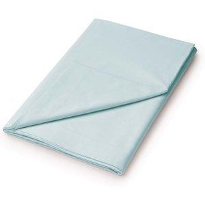 Bedeck 1951 Plain Dye Percale Super Kingsize Flat Sheet, Celadon Fshepde8cel, Celadon