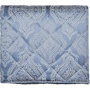 Bedeck Bedding Arossa Quilted Throw Double, Soft Blue , Soft Blue
