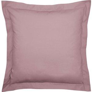 Bedeck Of Belfast 200 Thread Count Pima Cotton Plain Dye Large Square Oxford Pillowcase, T Thistle Ducbp2tsthi, Thistle