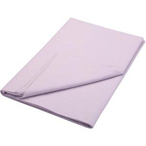 Bedeck Of Belfast 200 Thread Count Plain Dye Double Flat Sheet, Thistle Fshbb2t2thi, Thistle