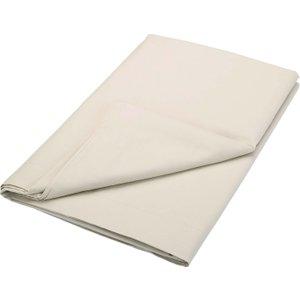 Bedeck Of Belfast 200 Thread Count Plain Dye Double Flat Sheet, Linen Furniture Accessories, Linen