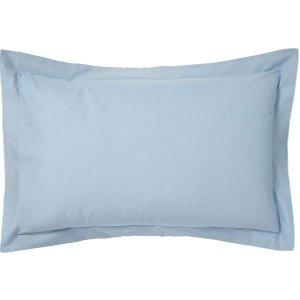 Bedeck Of Belfast 200 Thread Count Plain Dye Oxford Pillowcase, Sky Furniture Accessories, Sky