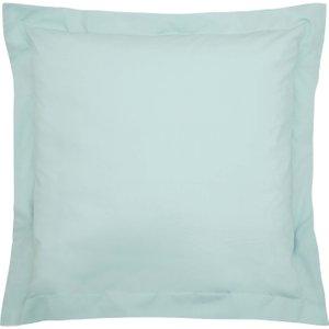 Bedeck Of Belfast 200 Thread Count Plain Dye Square Oxford Pillowcase, Jade Ducbb2jsjad, Jade
