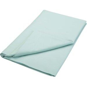 Bedeck Of Belfast 200 Thread Count Plain Dye Super Kingsize Flat Sheet, Jade Furniture Accessories, Jade
