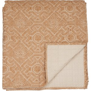 Bedeck Of Belfast Agra Quilted Throw, Copper Home Textiles, Copper