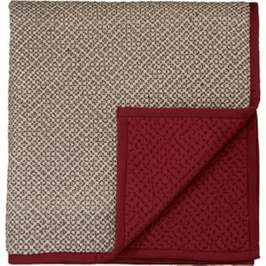 Bedeck Of Belfast Amaya Quilted Throw, Charcoal Home Textiles, Charcoal