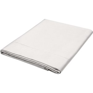Bedeck Of Belfast Fine Linens 1000 Thread Count Egyptian Cotton Super Kingsize Flat Sheet, Silver Fshbb1s8sil, Silver