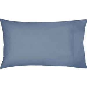 Bedeck Of Belfast Fine Linens 300 Thread Count Egyptian Cotton Housewife Pillowcase, Denim Ducbb3dhden, Denim
