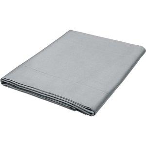 Bedeck Of Belfast Fine Linens 600 Thread Count Egyptian Cotton Kingsize Flat Sheet, Grey Fshbb6g3gry, Grey