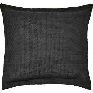 Bedeck Of Belfast Fine Linens Andaz Sham Pillowcase, Charcoal Pshandcpcha, Charcoal