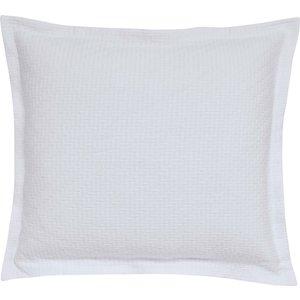 Bedeck Of Belfast Fine Linens Andaz Sham Pillowcase, White Pshandwpwhi, White