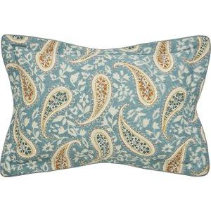 Bedeck Of Belfast Harita Oxford Pillowcase, Teal Duchritotea, Teal