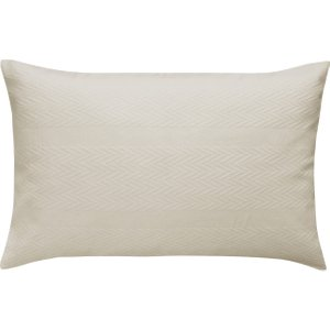 Bedeck Of Belfast Kenza Pair Of Housewife Pillowcases, Grey Duckzeghgryp, Grey
