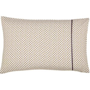 Bedeck Of Belfast Omari Housewife Pillowcase, Aubergine Ducomaahaub , Aubergine