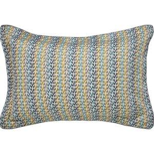 Bedeck Of Belfast Zeya Oxford Pillowcase, Green Furniture Accessories, Green