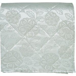 Broomhill Bedding Coco Quilted Throw, Duck Egg , Duck Egg