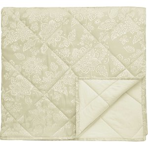 Broomhill Lara Quilted Throw, Ivory Home Textiles, Ivory