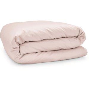 By Bedeck 500 Thread Count Plain Dye Kingsize Duvet Cover, Pink-b Ducpp5t3tub B