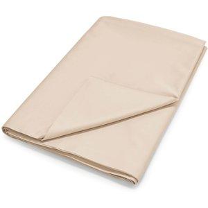 By Bedeck 500 Thread Count Plain Dye Kingsize Flat Sheet, Linen Fshpp5l3lin B, Linen