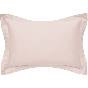 By Bedeck 500 Thread Count Plain Dye Pair Of Oxford Pillowcases, Pink Ducpp5totubp B, Pink