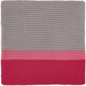 Clarissa Hulse Bedding Espinillo Knitted Throw, Hot Pink , Hot Pink