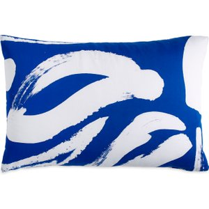 Dkny Abstract Floral Housewife Pillowcase, Blue Furniture Accessories, Blue