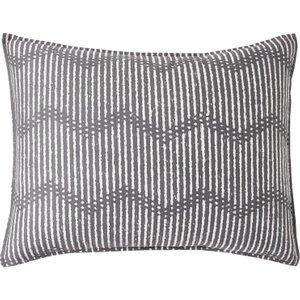 Dkny Dot Chevron Housewife Pillowcase, Grey Ducdchghgry, Grey
