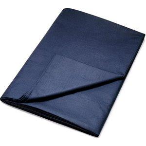 Dkny Egyptian Cotton Plain Dye Double Flat Sheet, Navy Fshdecn2nav , Navy