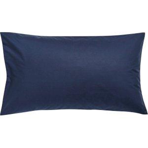 Dkny Egyptian Cotton Plain Dye Housewife Pillowcase, Navy Ducdecnhnav , Navy