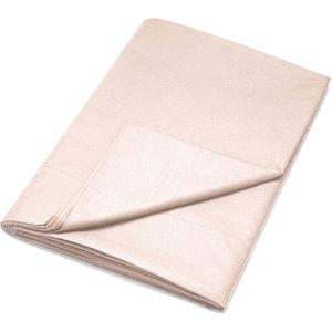 Dkny Egyptian Cotton Plain Dye Single Flat Sheet, Rose Dust Fshdecr1ros , Rose Dust