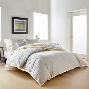 Dkny Sport Stripe Single Duvet Cover, Silver Furniture Accessories, Silver