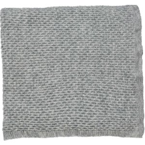Fable Annisa Knitted Throw, Grey Home Textiles, Grey