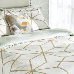 Harlequin Axal Duvet Covers, Ochre 1ducaxao1och C, Ochre