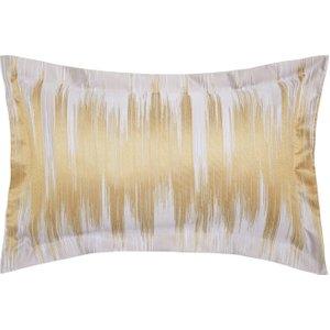 Harlequin Momentum Motion Oxford Pillowcase, Ochre Ducmotoooch, Ochre