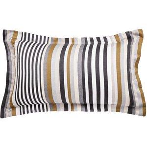 Harlequin Rosita Oxford Pillowcase, Charcoal Ducrstcocha, Charcoal