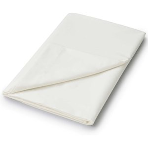 Helena Springfield Helena Springfied Plain Dye, 50/50 Percale, Single Flat Sheet, Ivory Furniture Accessories, Ivory