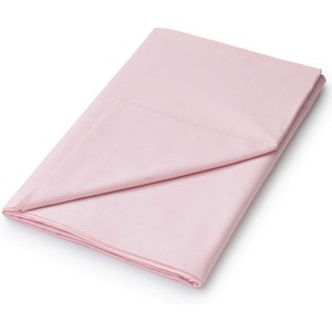 Helena Springfield 50/50 Percale, Super Kingsize Flat Sheet, Pink Furniture Accessories, Pink