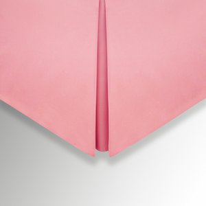 Helena Springfield 50/50 Percale Super Kingsize Valance, Rose Furniture Accessories, Rose