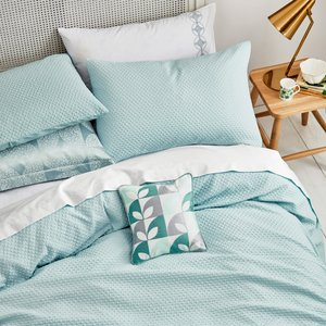 Helena Springfield Bedding Dory Double Duvet Cover, Aquamarine Blue Furniture Accessories