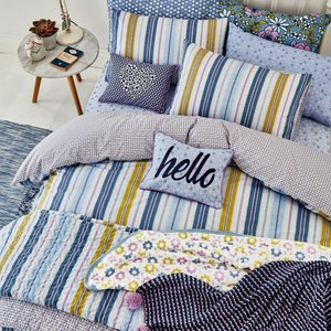 Helena Springfield Bedding Melody Double Duvet Cover, Bluebell Qcsmldb2blu