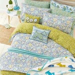 Helena Springfield Bedding Tess Super Kingsize Duvet Cover, Aquamarine Blue Furniture Accessories