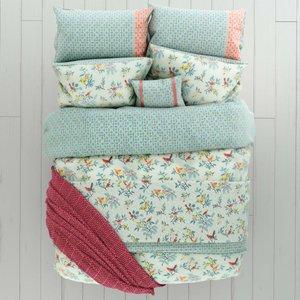 Helena Springfield Bedding Tilly Super Kingsize Duvet Cover, Duck Egg Blue Furniture Accessories