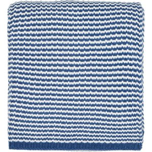 Helena Springfield Larvotto/tropez Knitted Throw, Nautical Blue Home Textiles, Blue