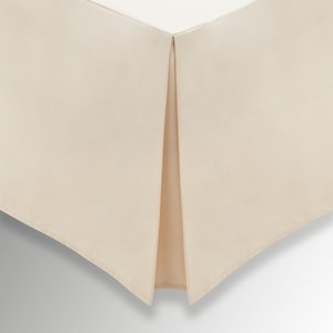 Helena Springfield Plain Dye, 50/50 Percale, Double Valance, Linen Furniture Accessories, Linen