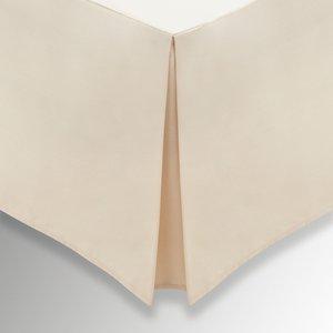 Helena Springfield Plain Dye, 50/50 Percale, Kingsize Valance, Linen Furniture Accessories, Linen