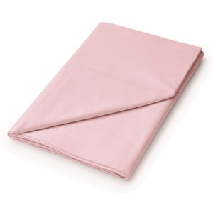 Helena Springfield Plain Dye Percale Single Flat Sheet, Blush Fshhlpu1bls , Blush