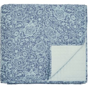 Helena Springfield Sylvie Quilted Throw, Blue Qtbsylbzblu , Blue