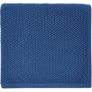 Helena Springfield Tilde Knitted Throw, Blue Qtotiebzblu , Blue