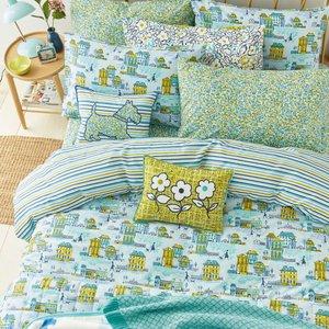 Helena Springfield Hometown Parade Super Kingsize Duvet Cover, Aquamarine Blue Furniture Accessories